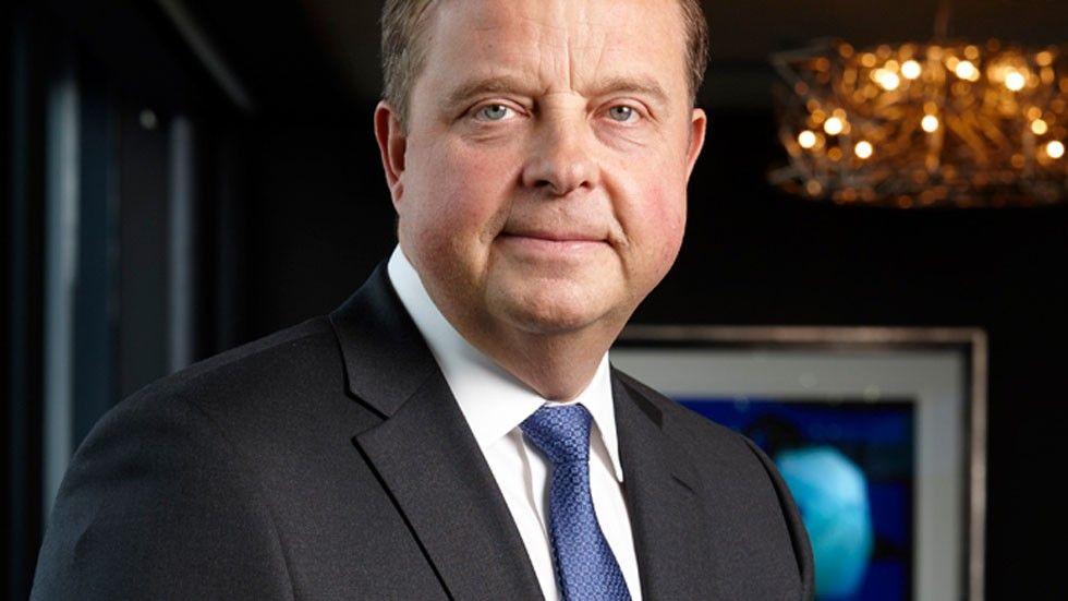 Evrys koncernchef Björn Ivrot
