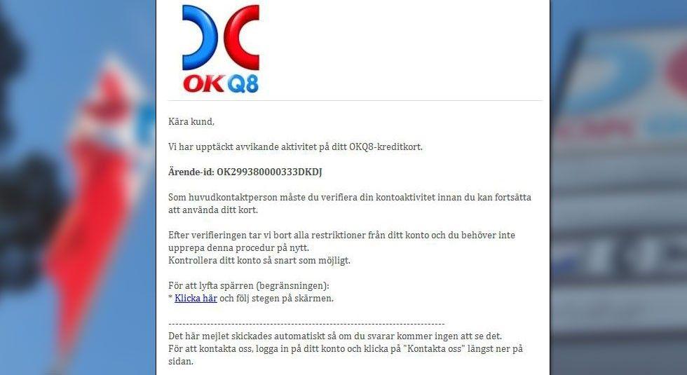 OKQ8 bluffmejl