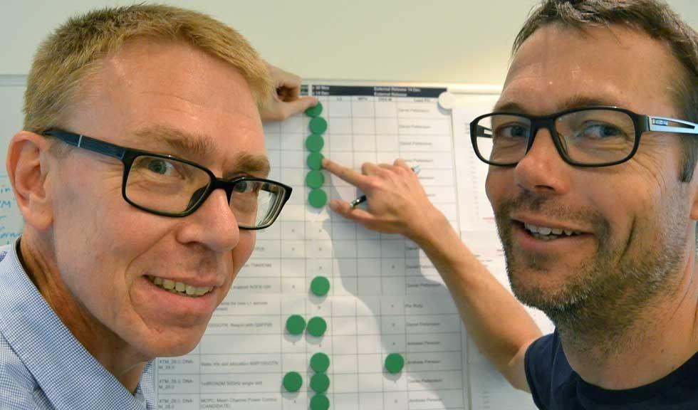 Mats Pehrson, Objektfabriken och Jan Skagerlund, Infinera