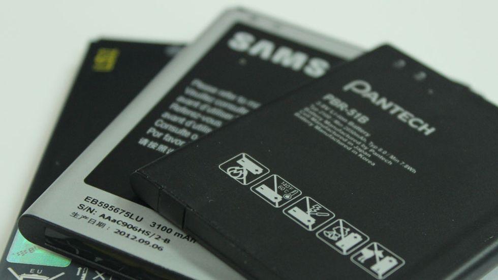 så fungerar mobilbatterier