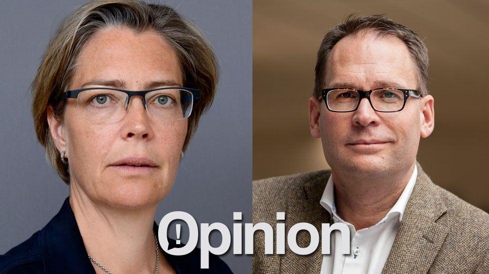 Catarina Wretman och Mikael Ek