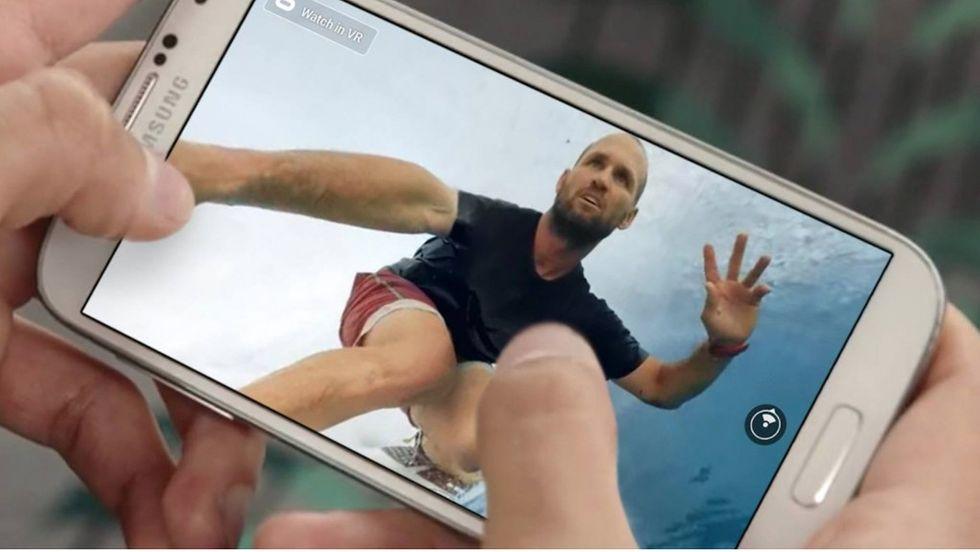360-grader video