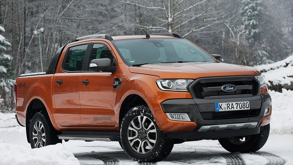 Ford Ranger Wildtrak 2016 test