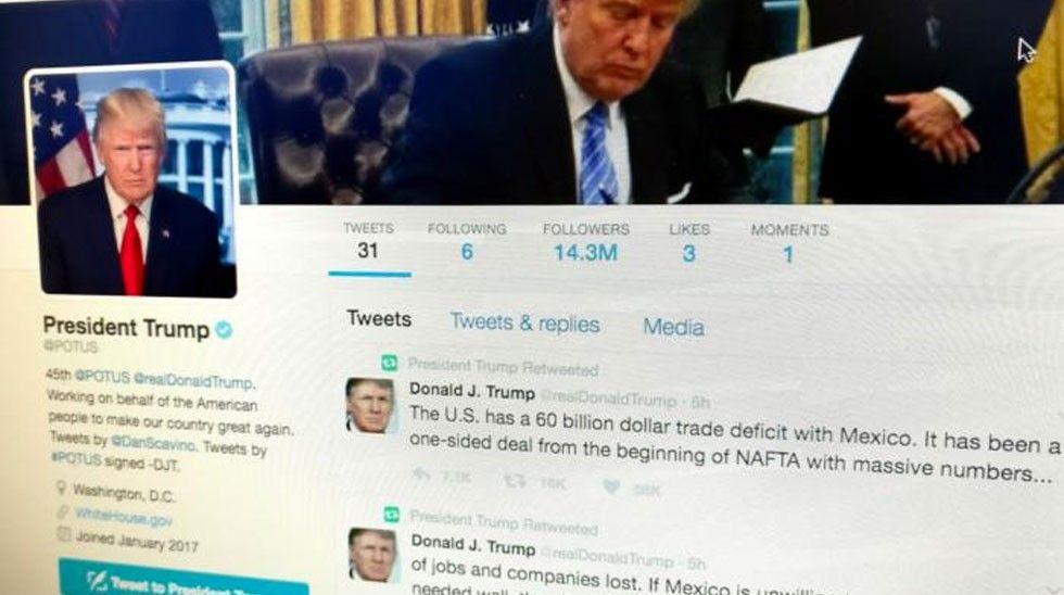 Donald Trump Potus twitter