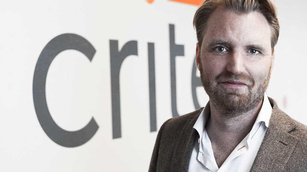 Andreas Wahlman, Nordenchef på Criteo.
