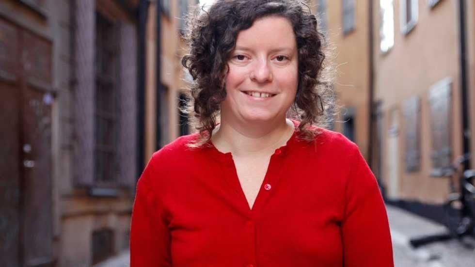 Maria Niemi, normkreativ kommunikationsstrateg på Hyvää Kommunikation
