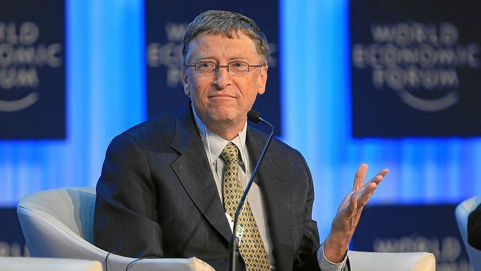 Bill Gates vid World Economic Forum 2013