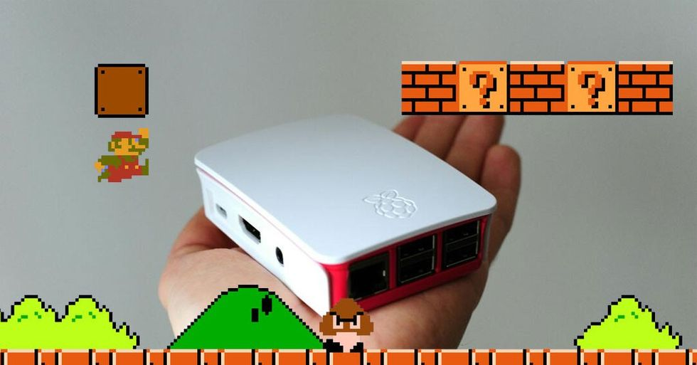 Raspberry Pi spelkonsol