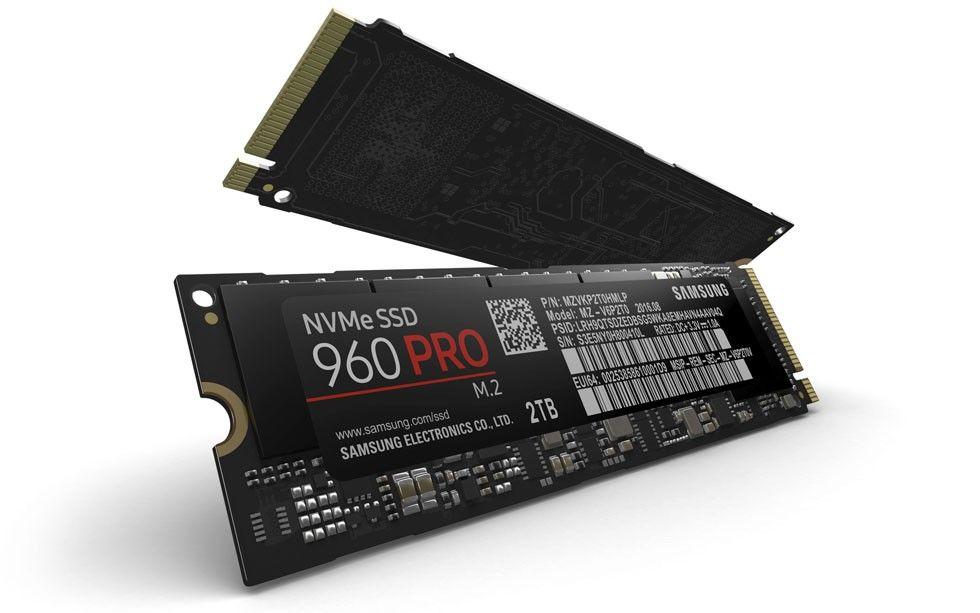 960 Pro, M.2 NVMe SSD, 2TB.