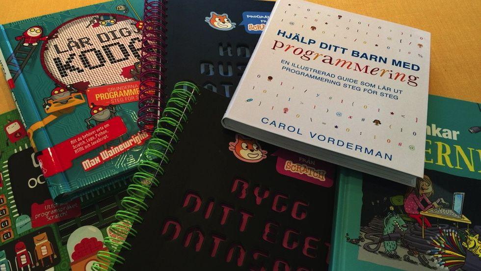 Bästa böckerna för barn om programmering, spel och nätet