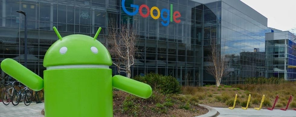 Android-robot hos Google