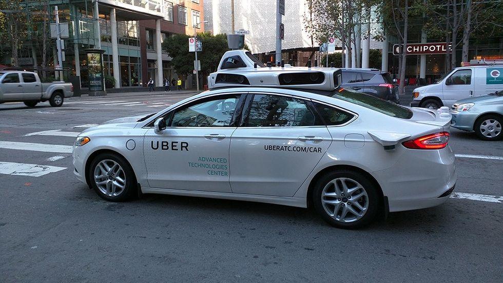 Annan självkörande Uber