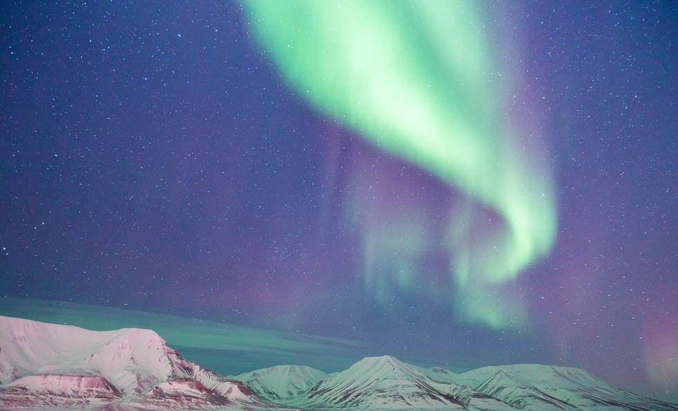 Norrsken, Svalbard