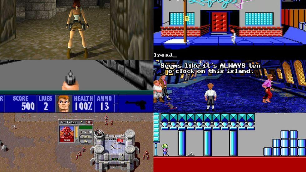 Klassiska spel i webbläsaren