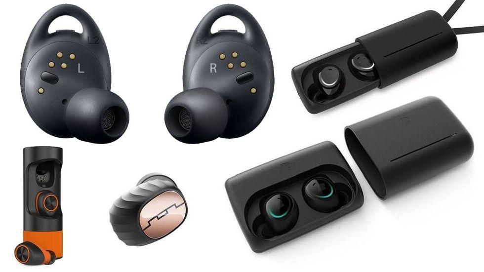 trådlösa hörlurar sportamore