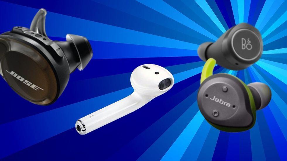 Hörlurar True wireless