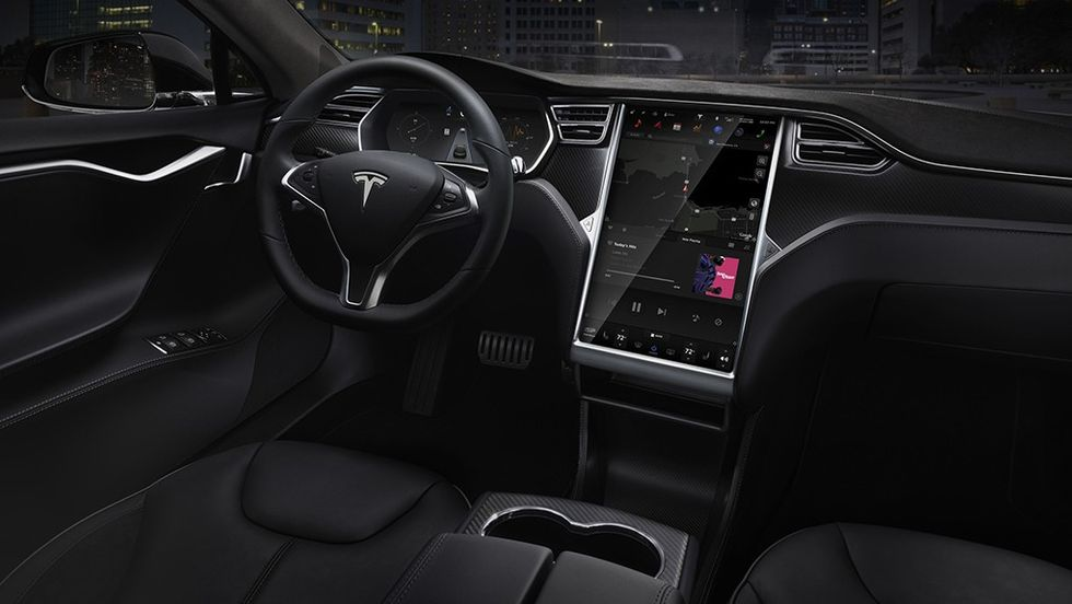 Interiör Tesla Model 3