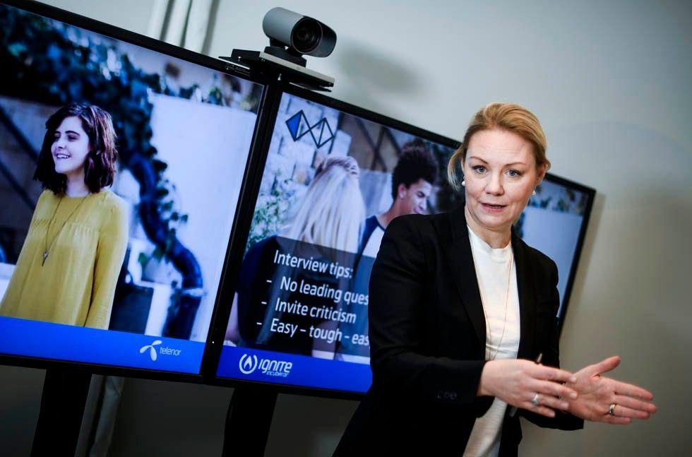 Linda Asplund, Telenor