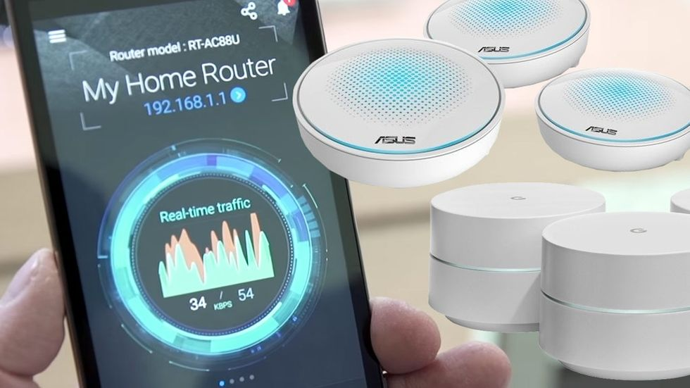 Wifi mesh router