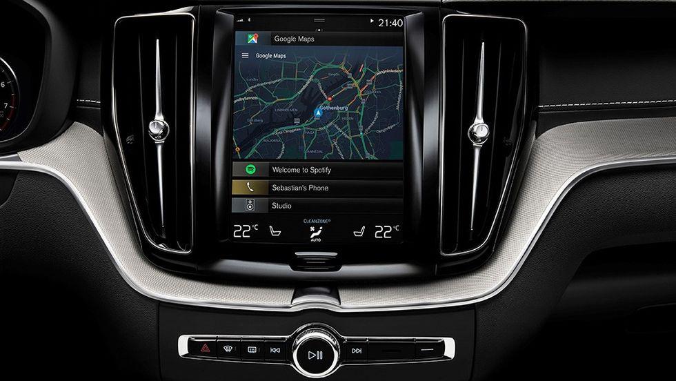 Android i Volvos infotainmentsystem