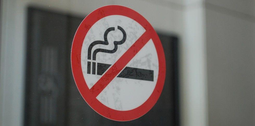 Rökning förbjuden-skylt