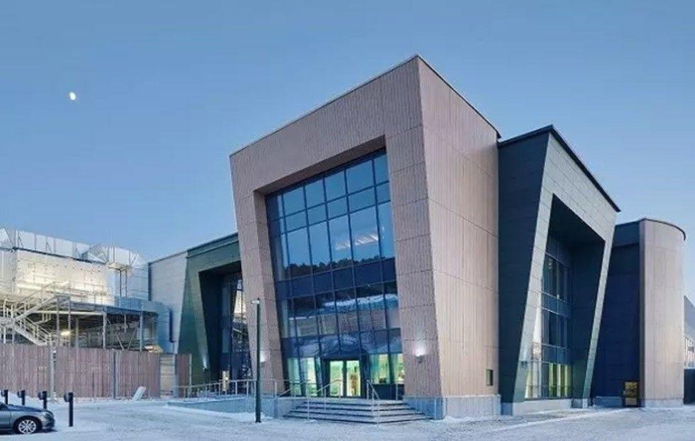 Digiplex anläggning i Upplands-Väsby