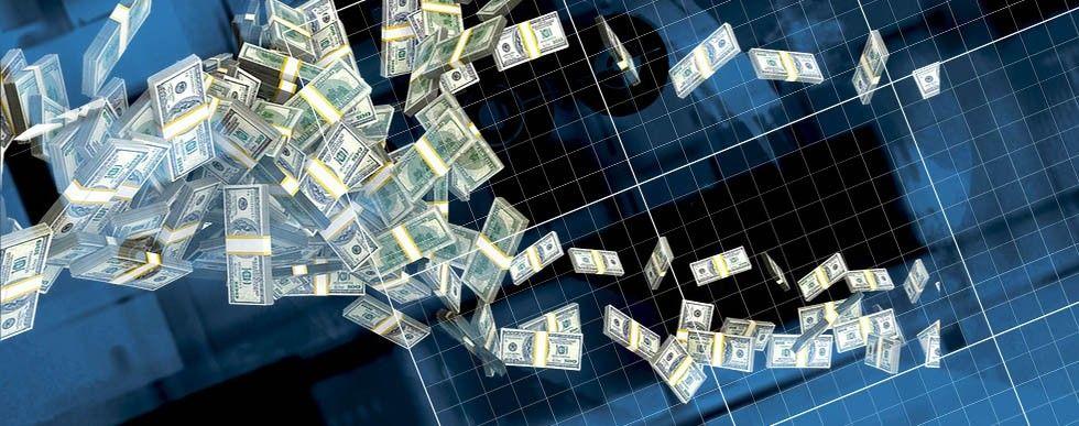 Pengar flyger iväg