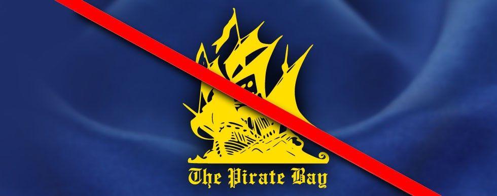 The Pirate Bay blockerad