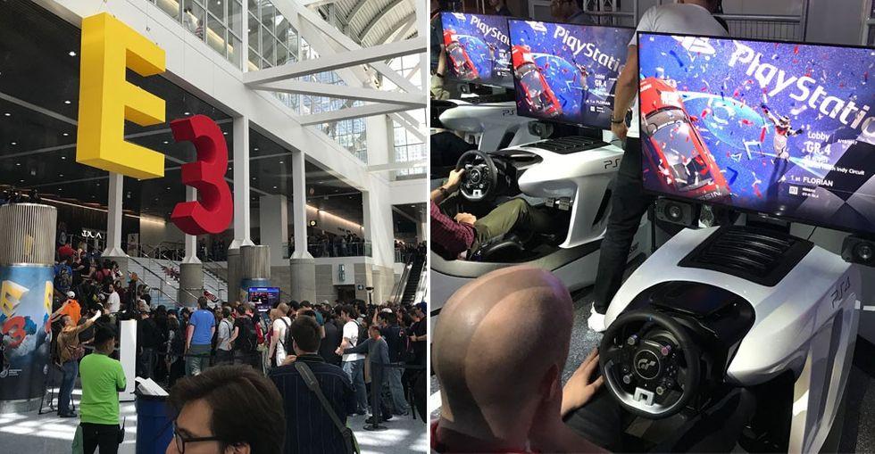 E3 spel-mässa