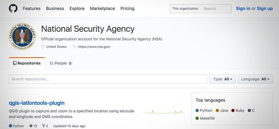 NSA Github