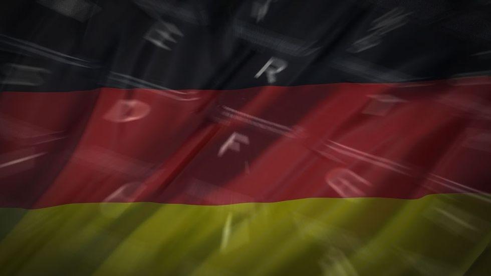 tyskland flagga