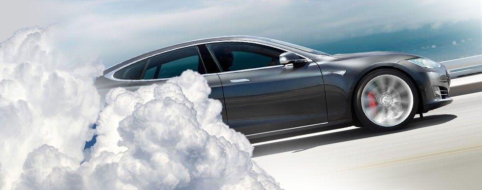 Tesla i molnet