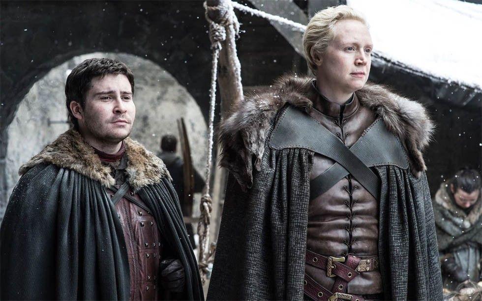 Podrick Payne och Brienne av Tarth