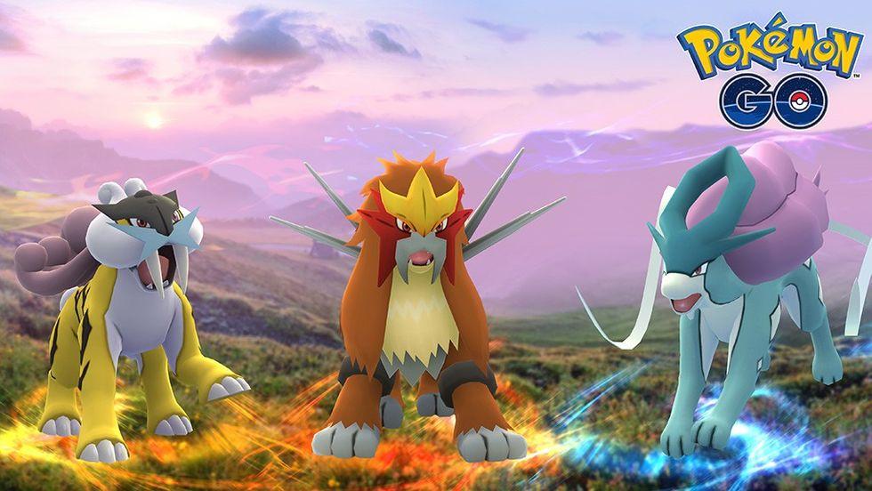 Pokémon Go Johto Legendarys