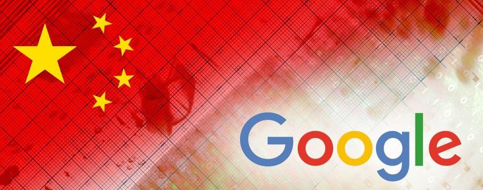 Kinesisk flagga, Google