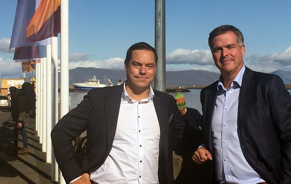 Mikael Noaksson och Tomas Wanselius