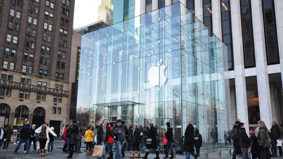 Apple-butik i USA
