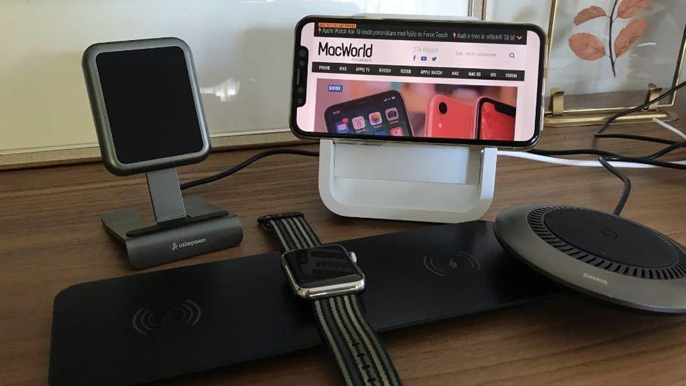 TEST: Snygga trådlösa laddare till din nya Iphone MacWorld