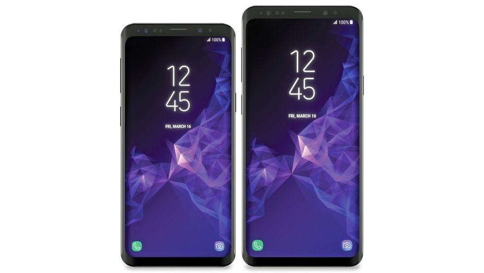 Samsung Galaxy S9 läcka