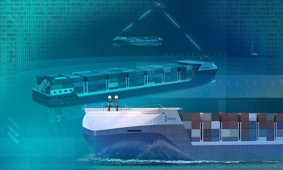 Rolls-Royce självkörande fartyg