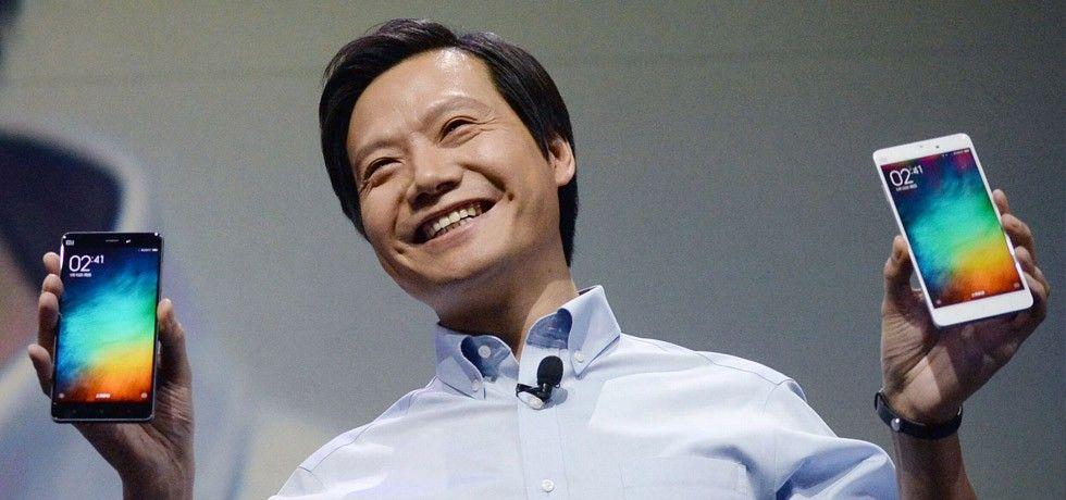 Xiaomi-chef med telefoner