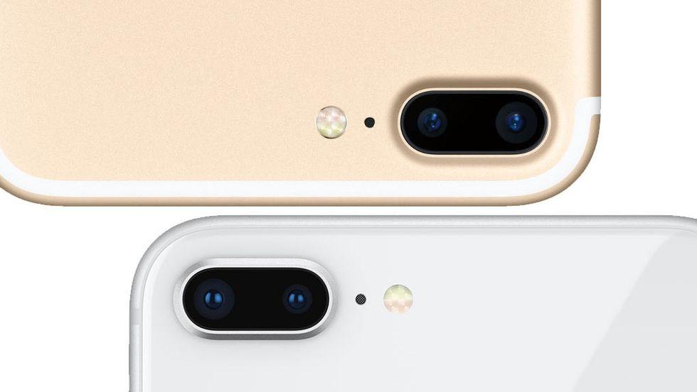 Iphone 7 plus, Iphone 8 plus, Iphone X kamera