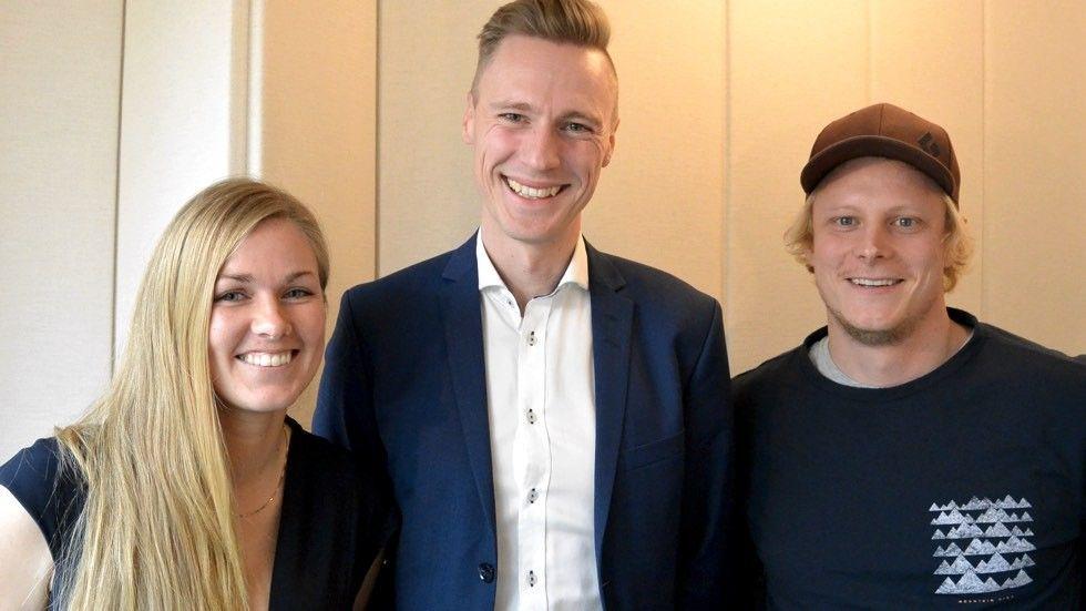 Lovisa Johansson, Carl Hörberg och Anders Bälter, 84codes