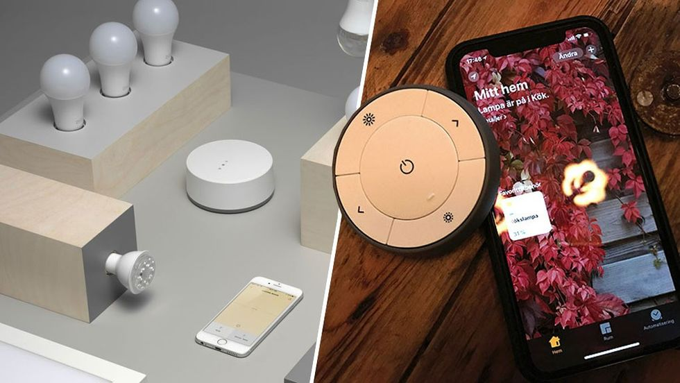 Apple Homekit Ikea Trådfri