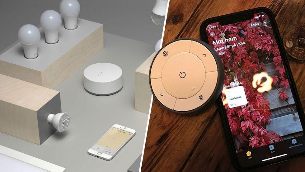 Apple Homekit Ikea Trådfri
