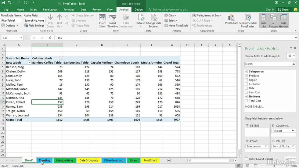 Excel, Office 365