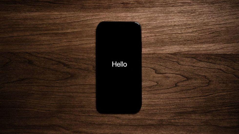 Mörkt på Iphone