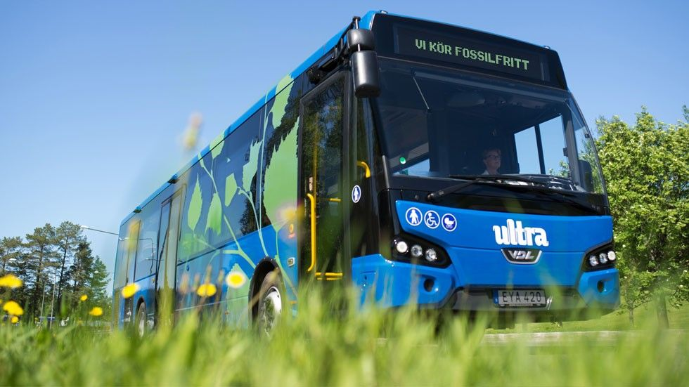 Transdev-buss