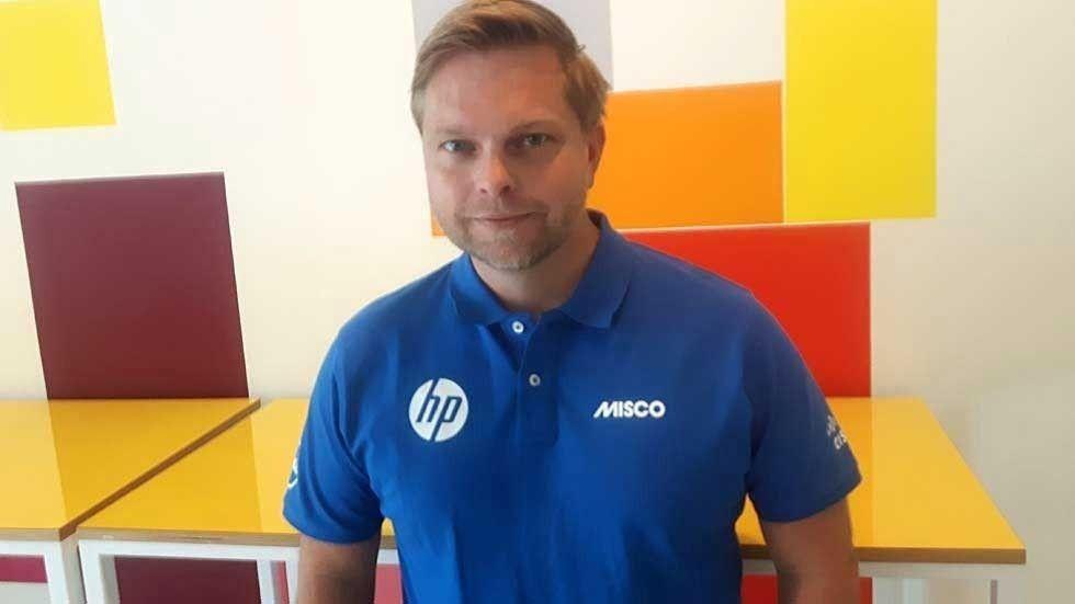 Christoffer Jernberg är vd på svenska Misco.
