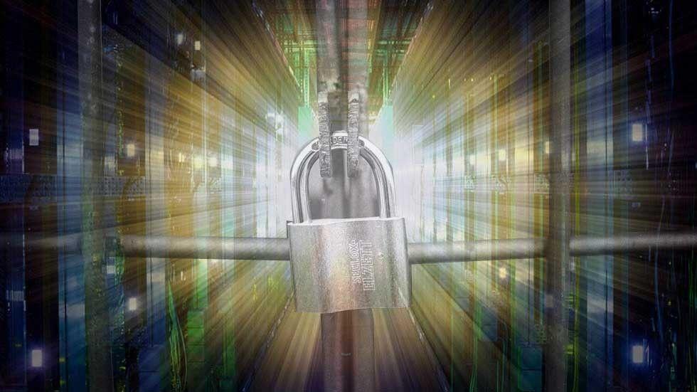 inlåsning datacenter
